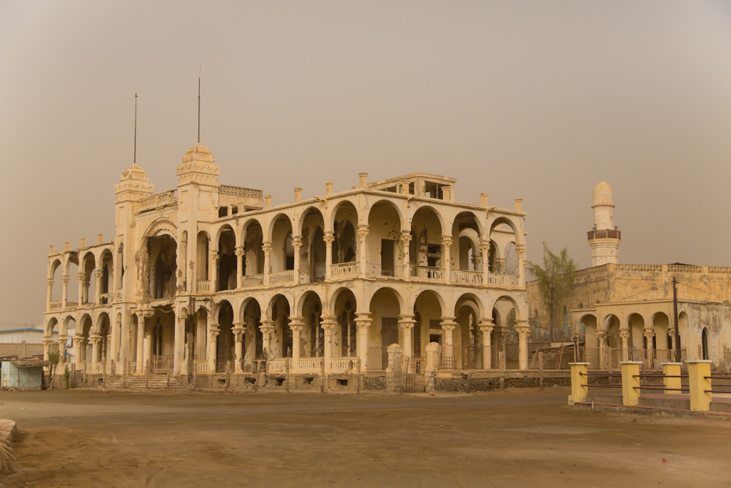 Old city of Massawa, Eritrea