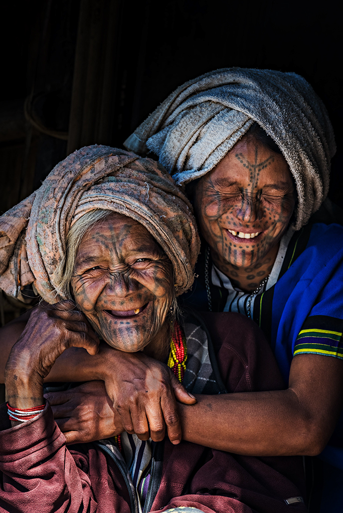 Tattoo-face Chin Tribes