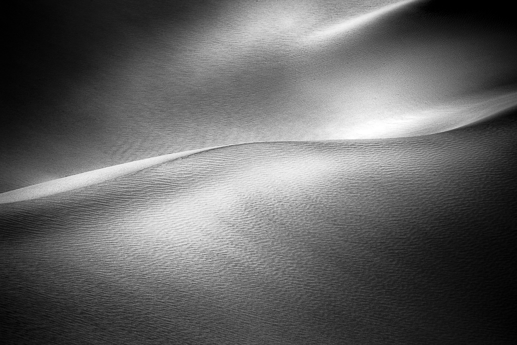 Morning Light Death Valley Dunes