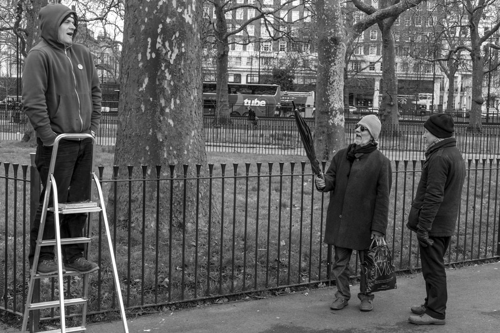 Speakers Corner - London.