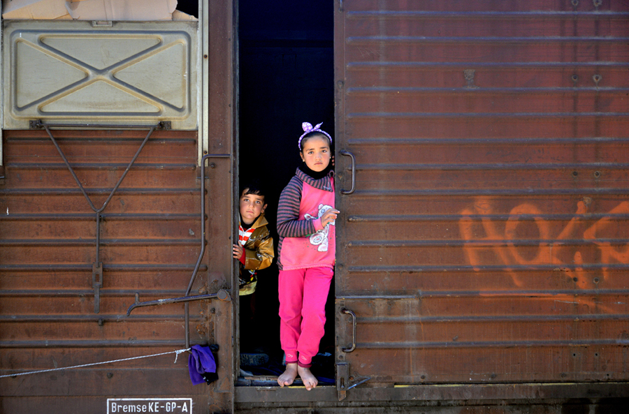 Childhood on hold: refugee kids in the borderland