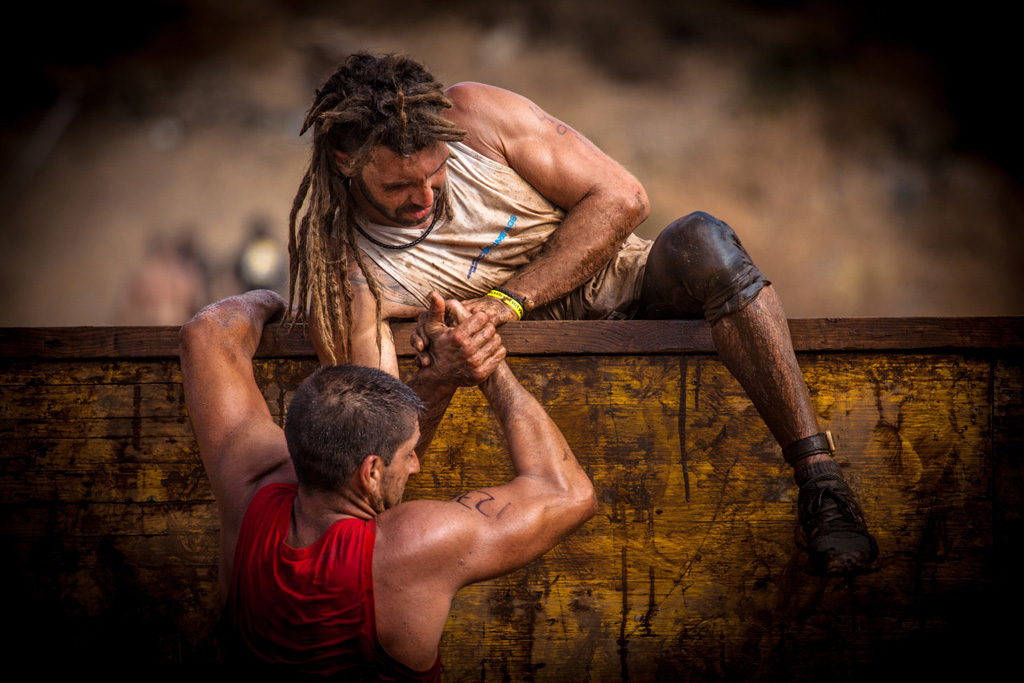 Courage and resistance - A spartan race series