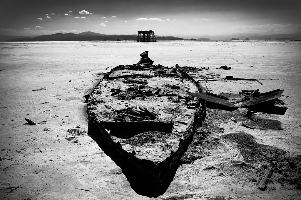 Shrinking Lake Urmia