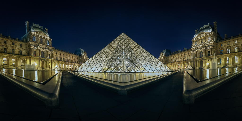 A night at Louvre