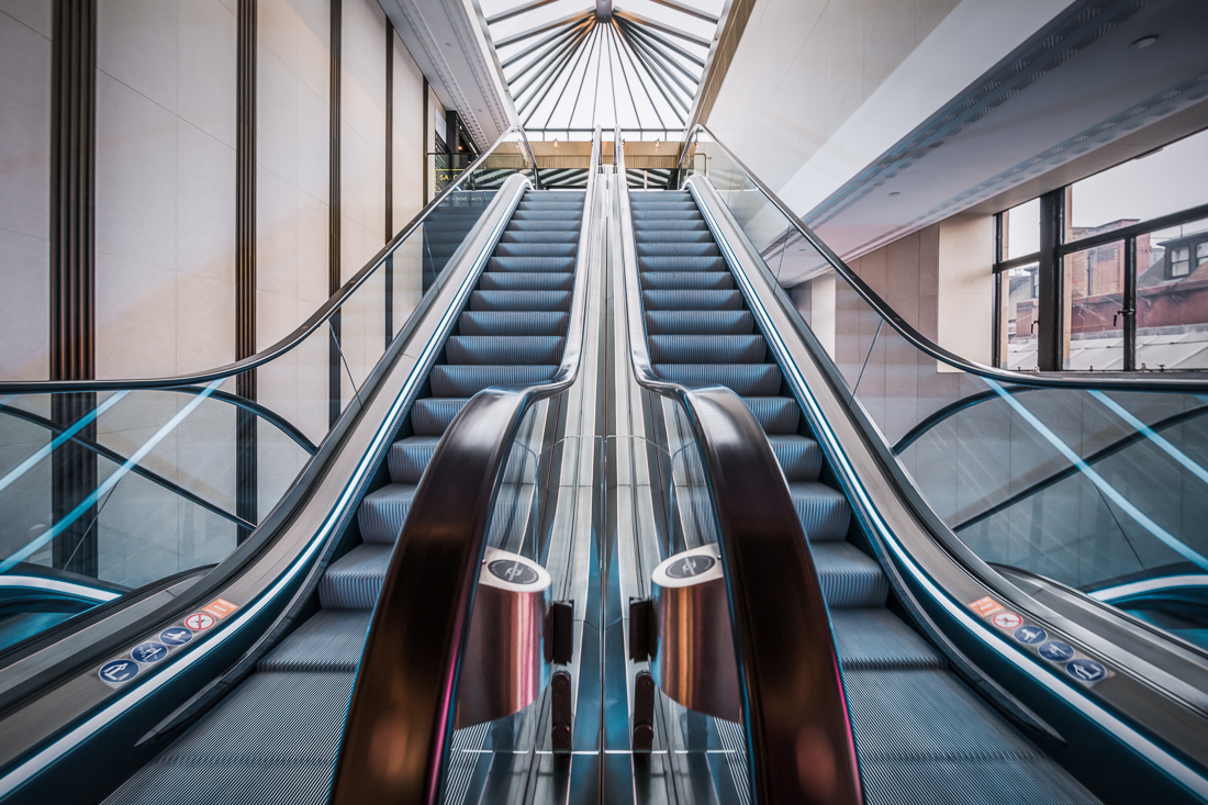 Escalator Beauty
