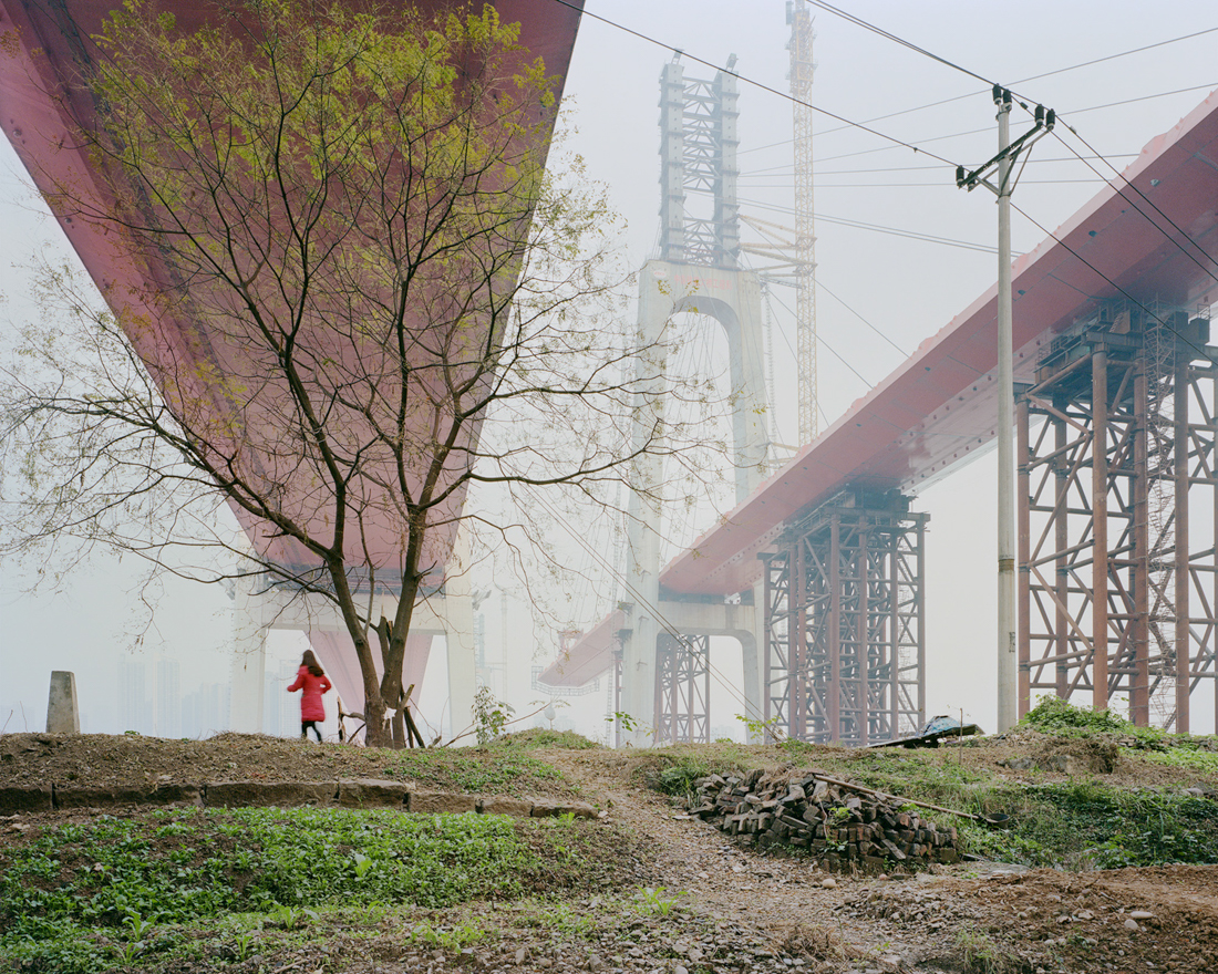 The Egongyan crossings, Chongqing. China, December 2017.