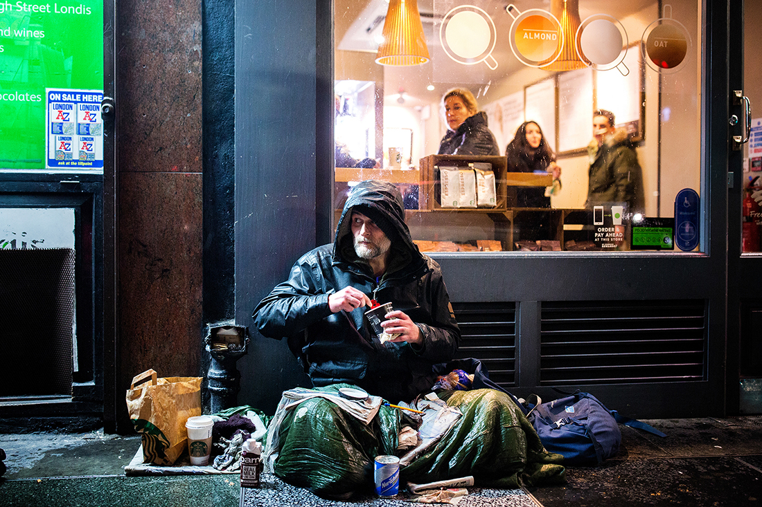 The invisible: A Project About London Homeless