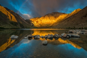 Convict Lake and the Rainbow