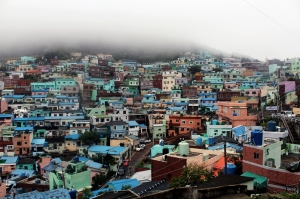 Foggy Gamcheon Village