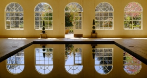 Pool House Reflections
