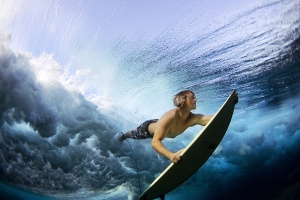 Underwater Surfer.