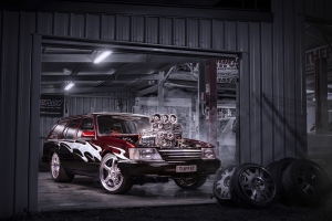 Holden Commodore Burnout Car