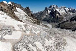 Mer de Glacé - The persistent retreat of a glacier