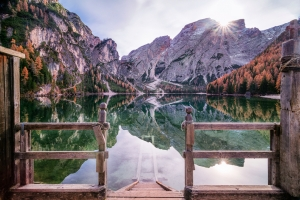 entry to lago di braies