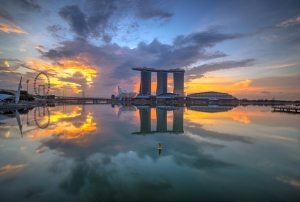 Perspectives of Marina Bay Sands