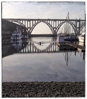 Yaquina Bay Bridge, Newport Oregon