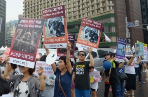 Issue of dog meat in Korea