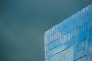 Minimal- Blue Buildings #1