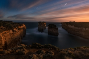 To Unveil Mysteries of Australian Coastline in Long Exposure