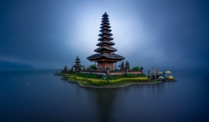 Portrait of a Temple | Ulun Danu Beratan Temple, Bali, Indonesia