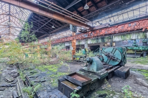 Abandoned Engine Shed