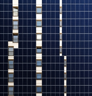 Vertical Solar panels
